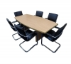 2m x 1m Tables with 6 Chairs