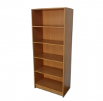 Duet Tall Home Office Bookcase with 4 Shelves