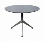 Nero Executive Chamfered Circular Meeting Table