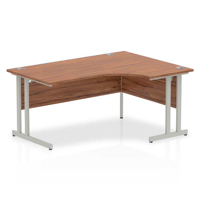 Impulse Cantilever 1600mm Rectangle Desk Beech