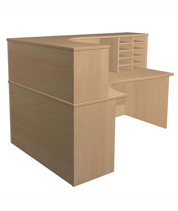 Satellite tall reception desk a50 office furniture - Tall office desk ...